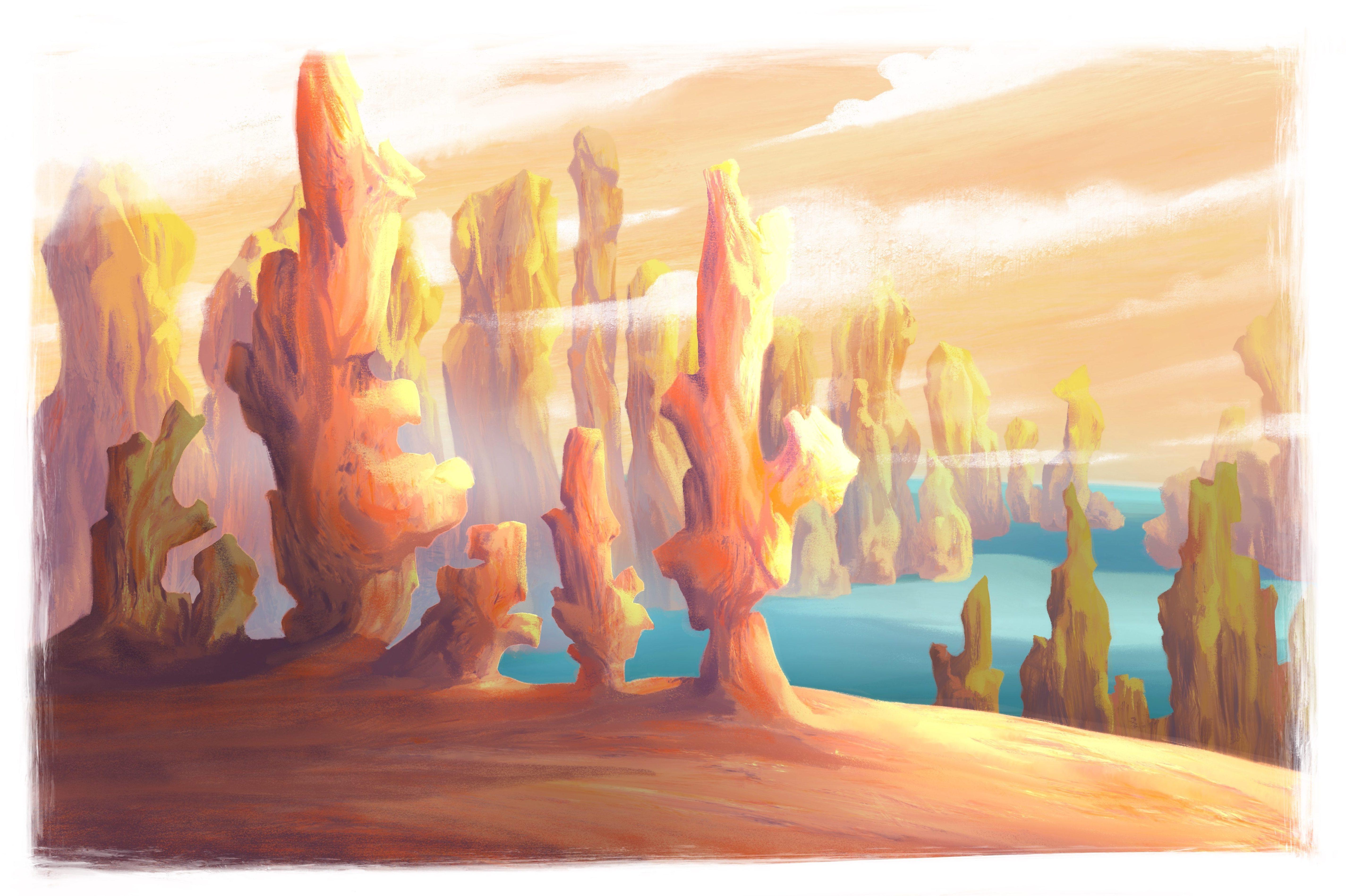 Land of stones