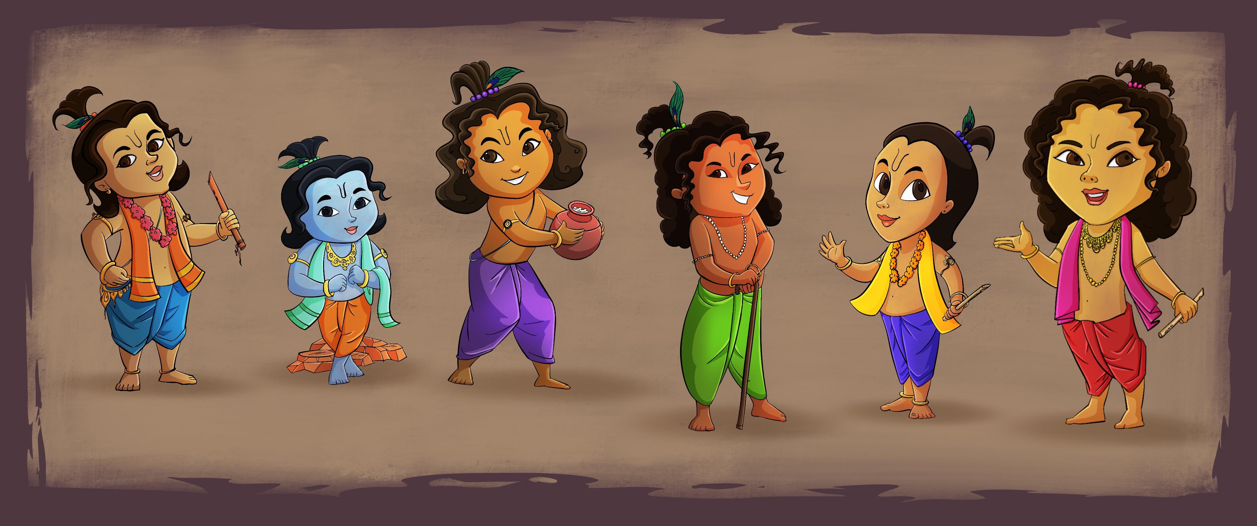 Character_Design_Krishna