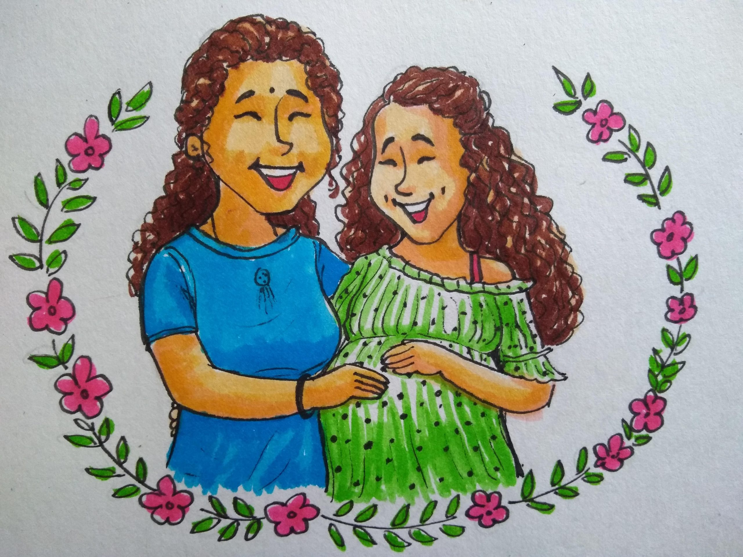 Personalized traditional illustration